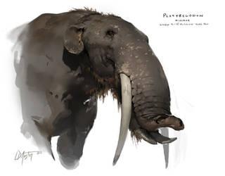 Platybelodon by ldaustin