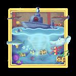 Super Mario 64 Dire Dire Docks Painting