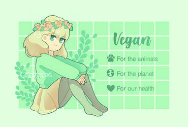 For the animals, for the planet, for our health by TheOceanOwl