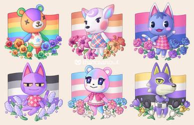 Animal Crossing Pride