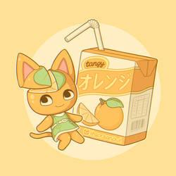Tangy's orange juice