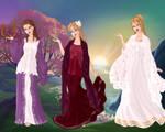 Mnemosyne, Phoebe and Rhea