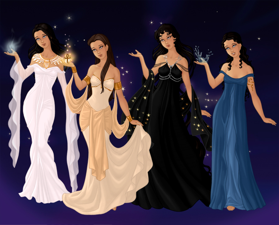 Ogdoad Goddesses by PoisonDLucy13