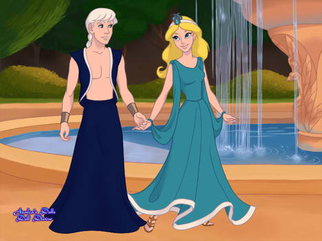 Lord Oceanus and Lady Tethys