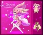 Audino/Lopunny Fusion!! Lopino!
