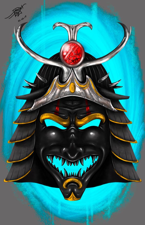 Mascara Samurai by takemetoyourmadness