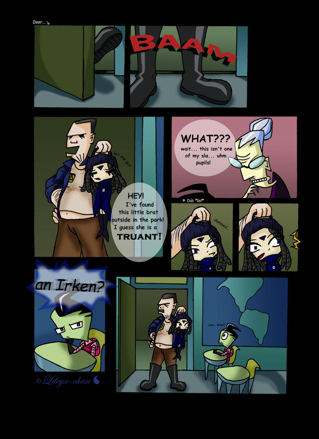 Invader Zim Fan Comics Invader Zim - FanComic...
