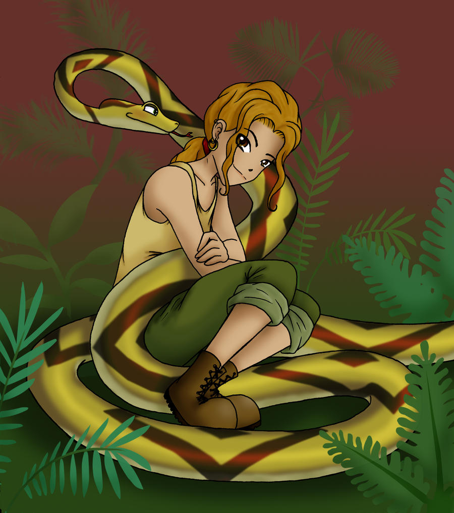 I Like Snakes -Colored- By Lileyx On DeviantArt