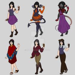 KH: Nau's Outfits