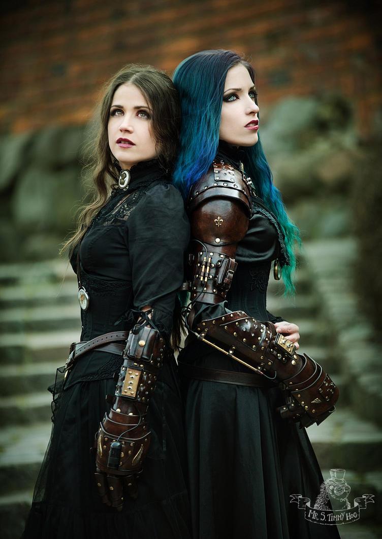 Lady Elbereth and Daedra by MrSTimmyHog