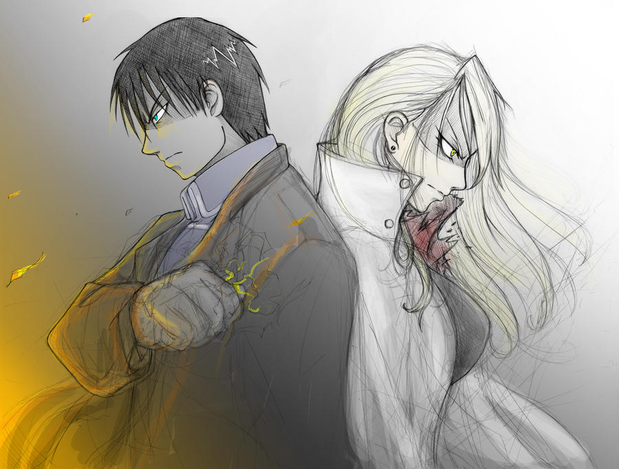 Roy and Riza by Choestoe