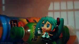Vegetable Juice - Hatsune Miku