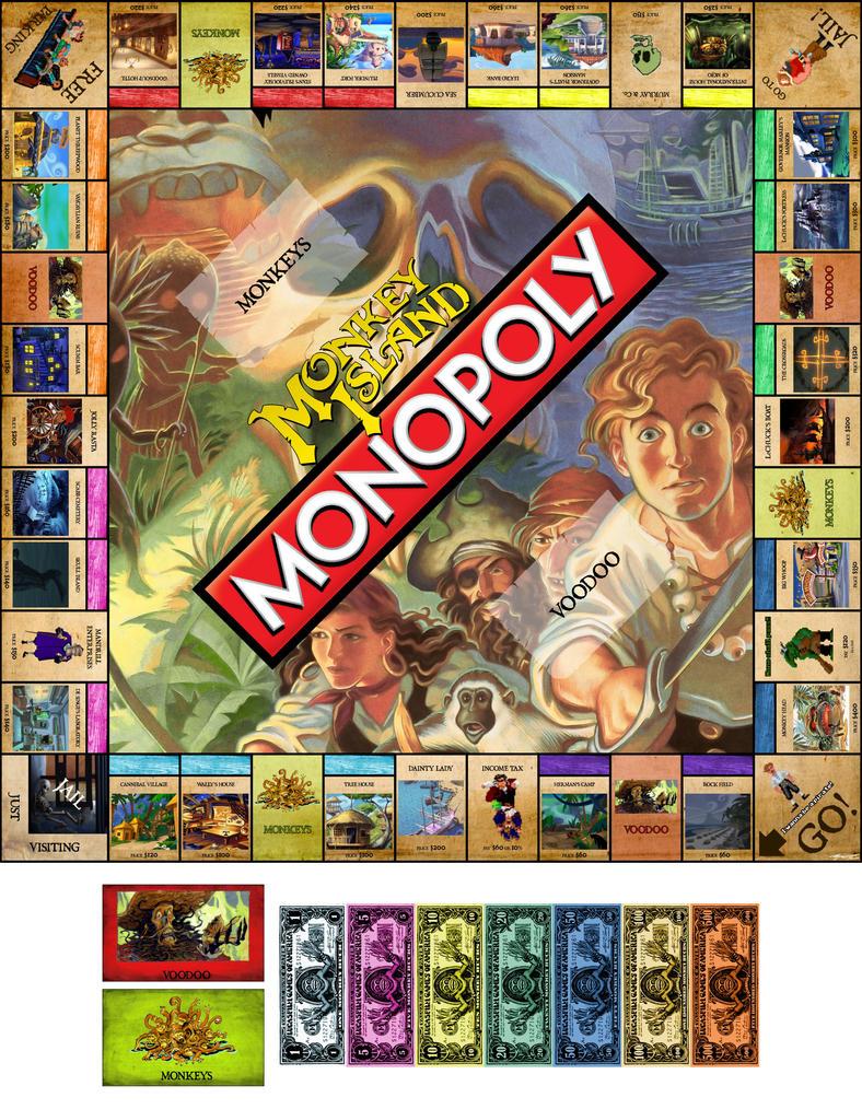 Monk-O-Poly, el juego de tablero de Monkey Island  Monk_o_poly_by_rosepurpuradelcairo-d47ztxf