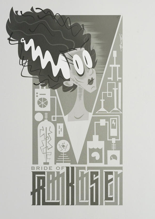 Bride Of Frankenstein by Cool-Hand-Mike