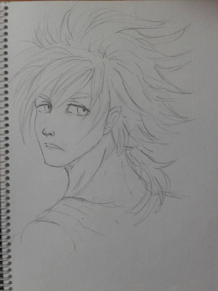 Oc chris by Yosuru