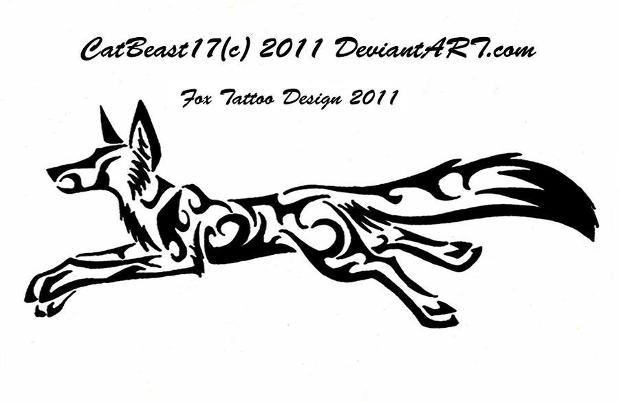 Running Tattoo Designs Running Fox Tattoo Design by