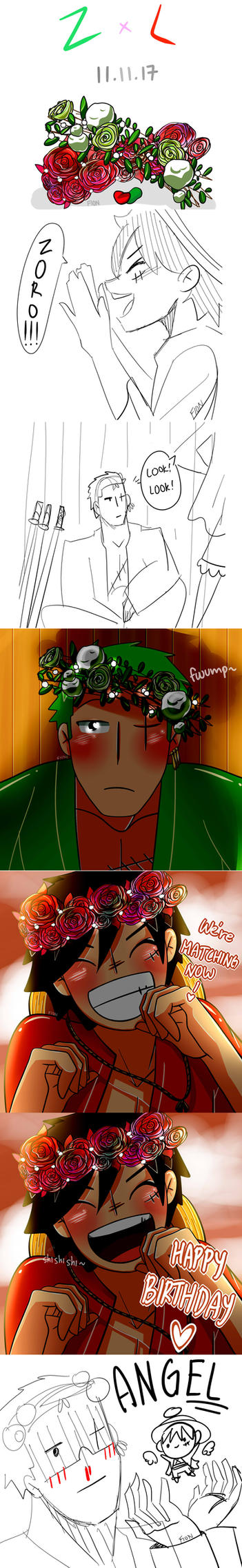 Happy Birthday Zoro! by sakuraxls2