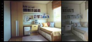 Girl's bedroom 3d