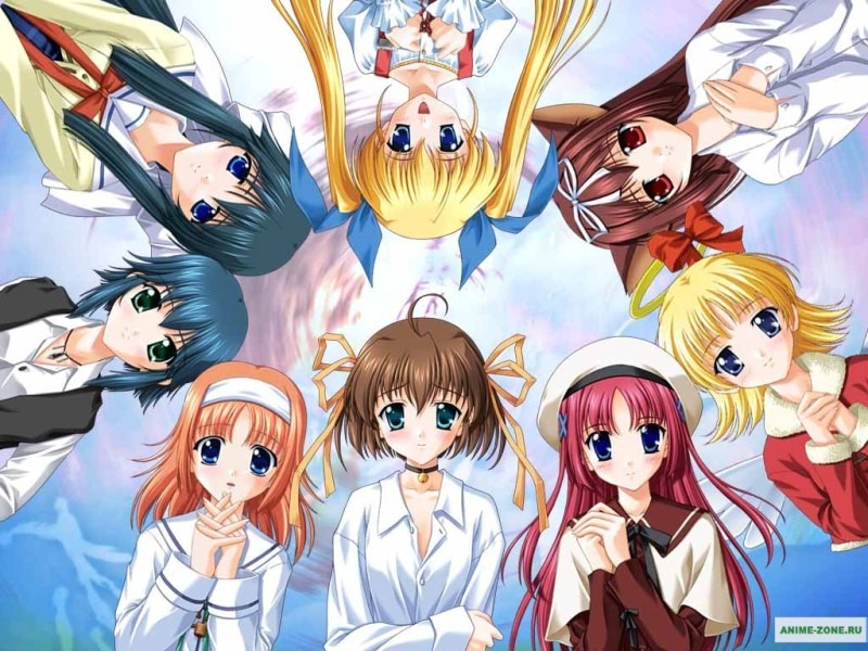 Anime Girl Group By Elwlyn On Deviantart