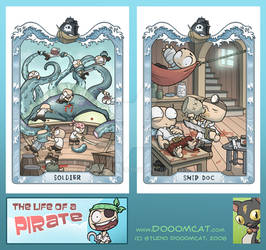 Pirate Post Cards