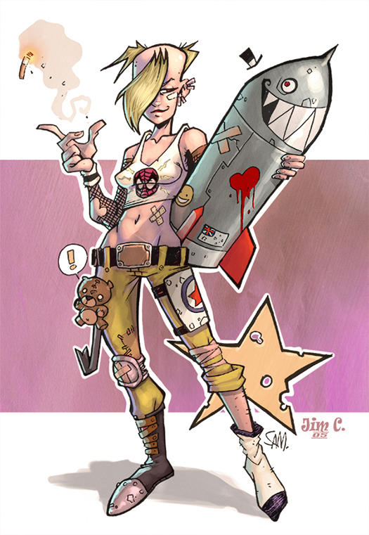 Tank Girl by MonkeySeed