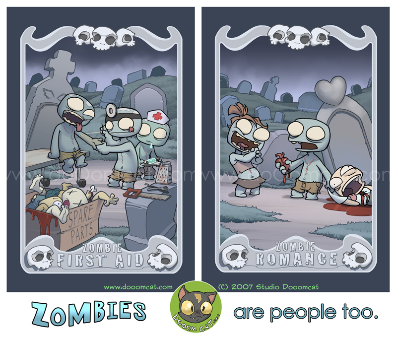 Zombies Are People Too... by MonkeySeed
