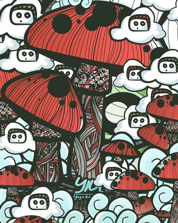 Mushrooms by YagoMartins95