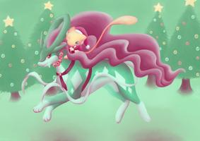 Riding the Rain Deer by VerminFu