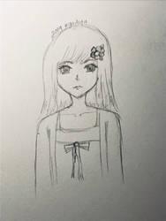 Daisy- Flower anime girl