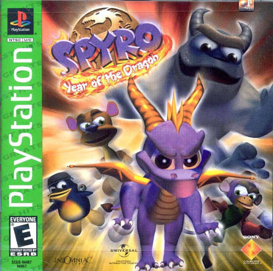Spyro: Year of the Dragon - Greatest Hits iso PS1 by R1CkYG