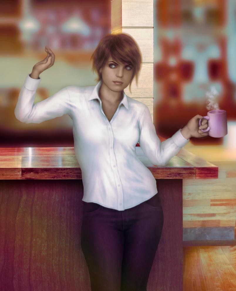 Commission: Agent Lloyd by Kros2692