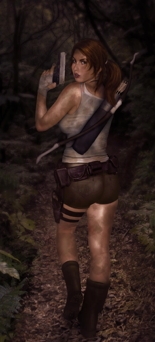Lara Croft by Kros2692