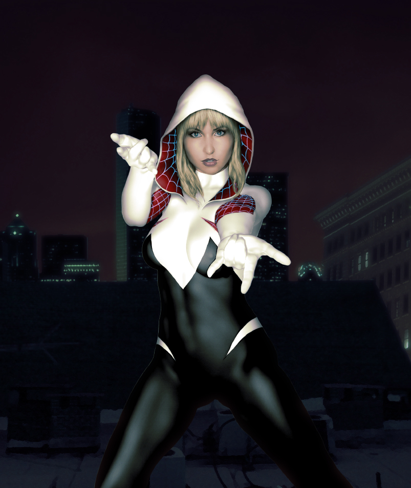 Spider Gwen by Kros2692
