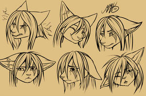 Neko - emotions
