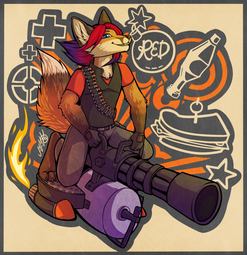 I Got The Gun by Neko-Maya