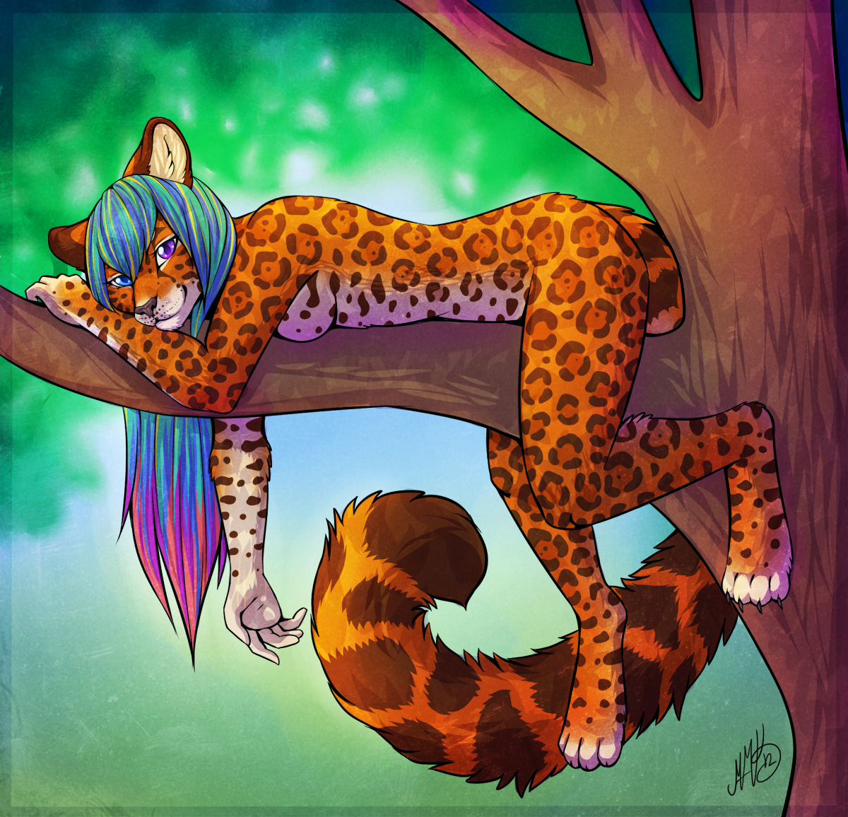 Relaxing by Neko-Maya