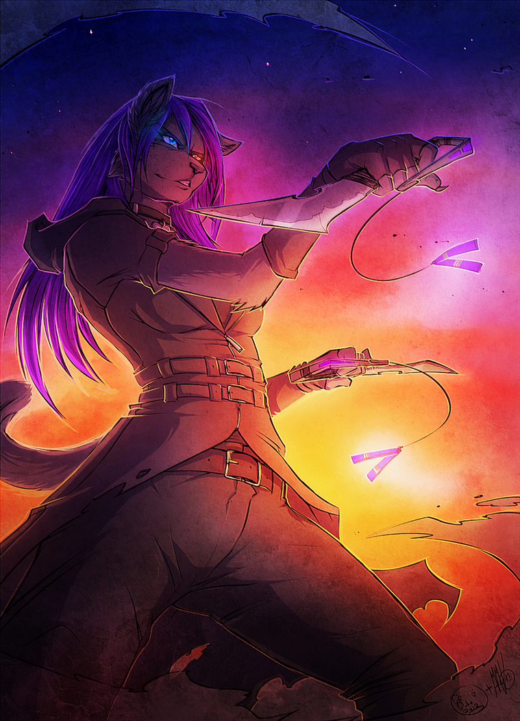 Sunset Duel [COLLAB] by Neotheta