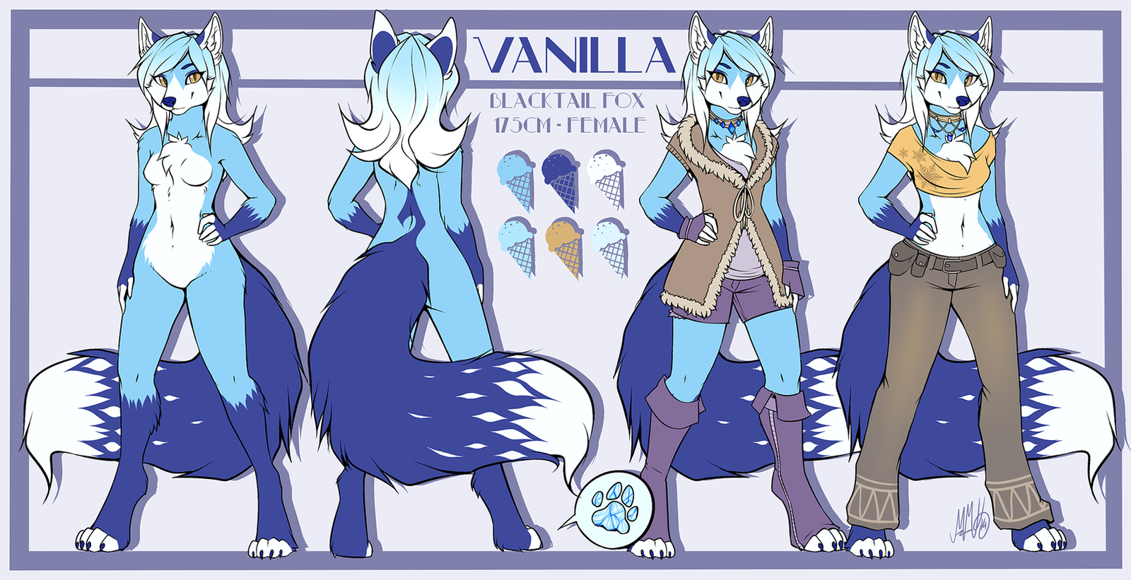 Vanilla Reference by Neotheta