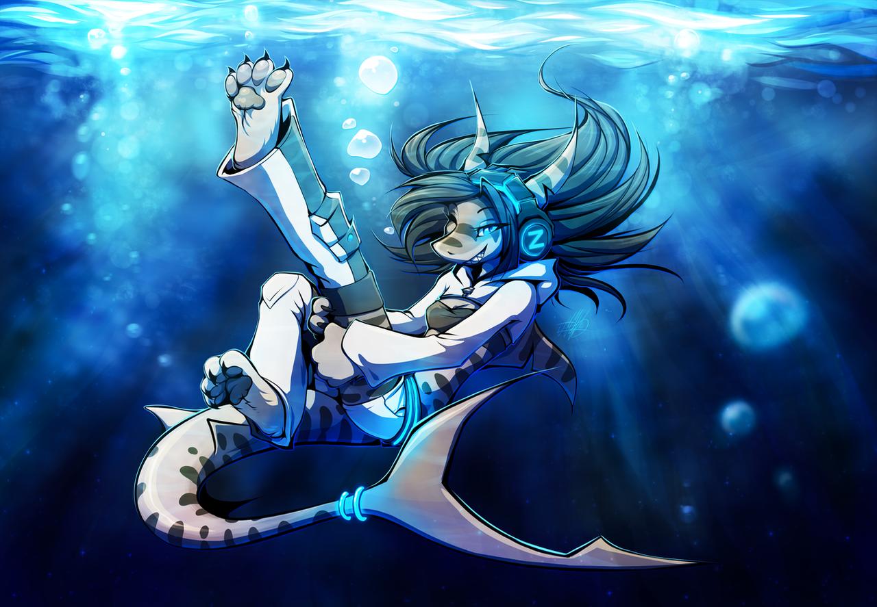 Big Blue Cat Anime