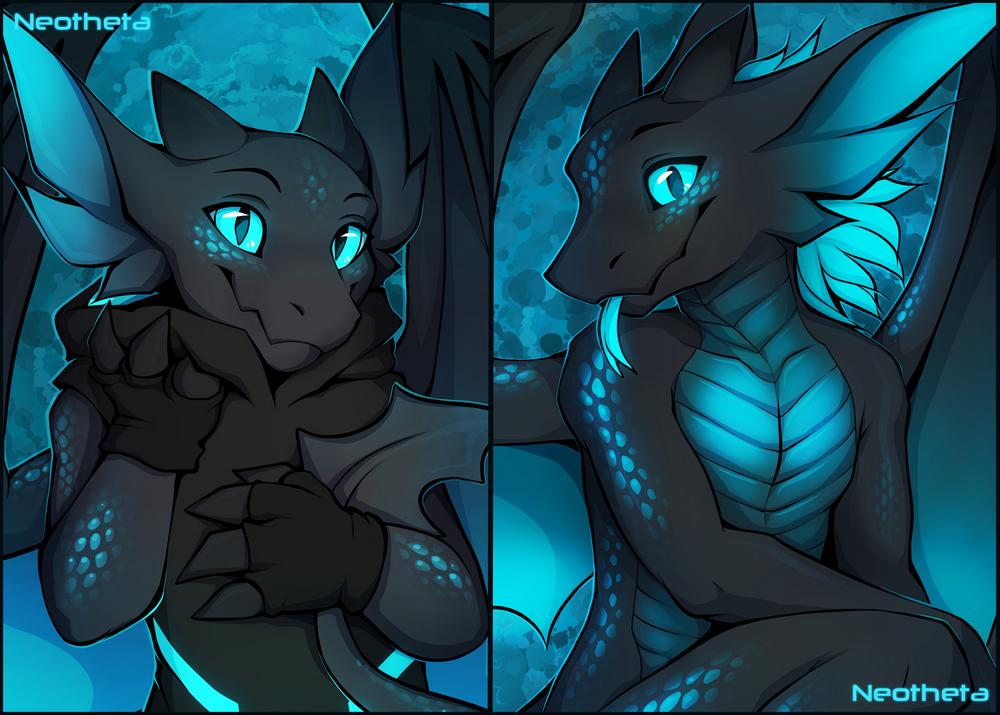 Pillow Dragon by Neotheta