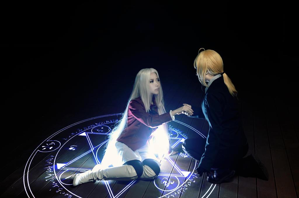 Fate zero saber and irisviel