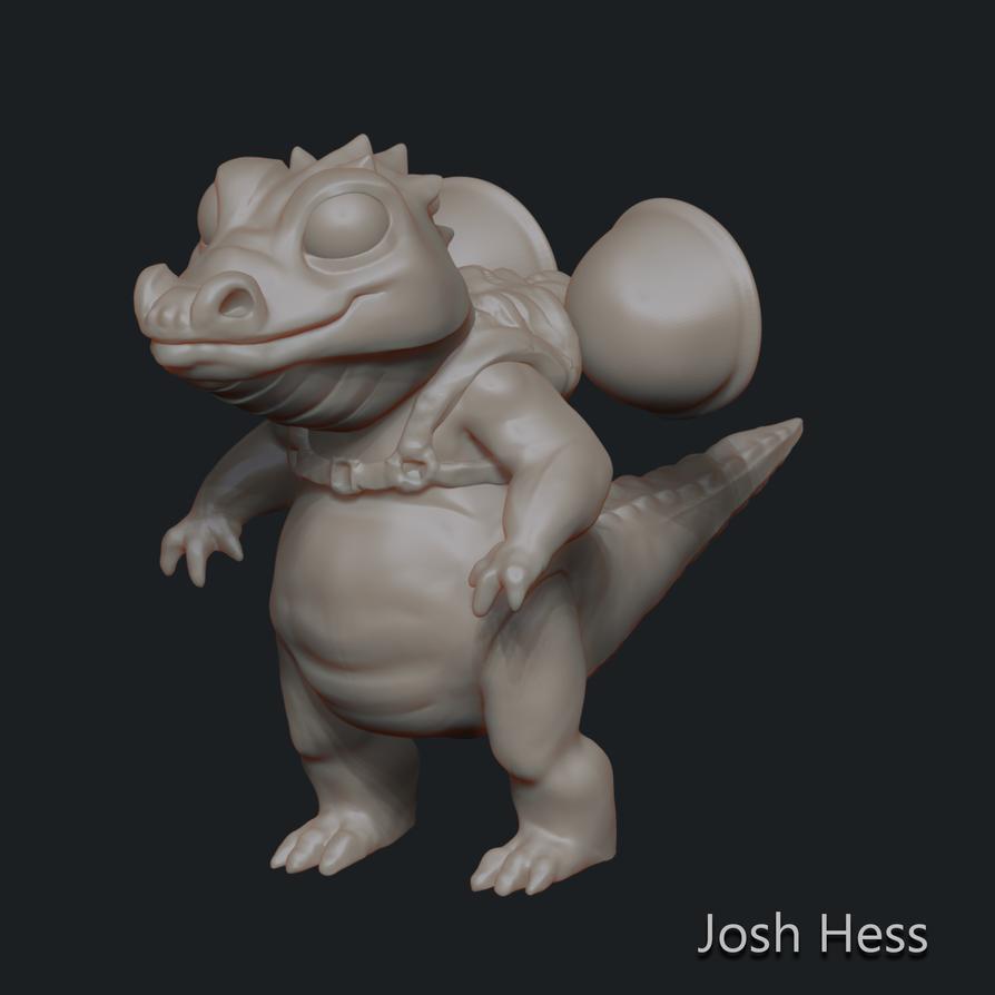 Jetpack croc  by jhesski