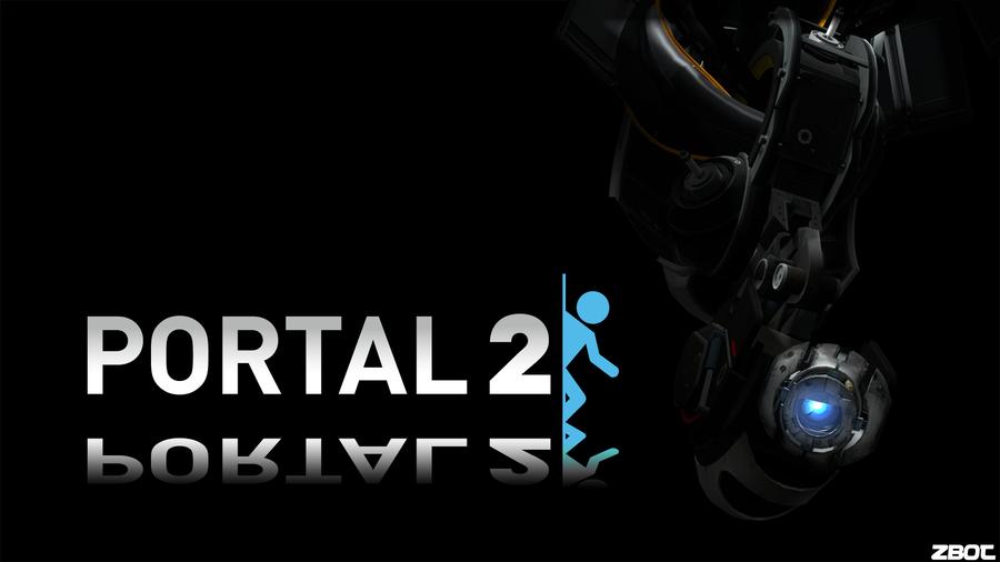 Portal 2 Background: Evil Wheatley by Zbot21