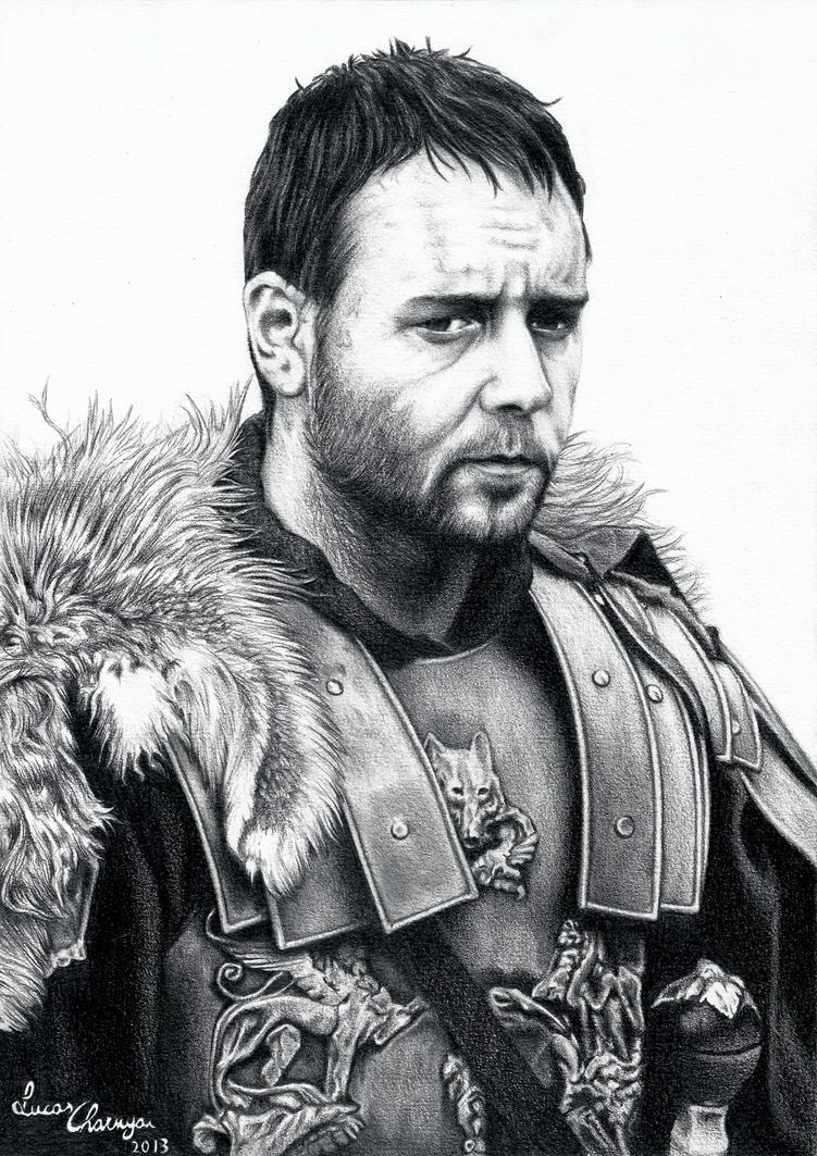 Russell Crowe - Gladiator by lucascharnyai