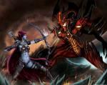 Heroes of the Storm: Sylvanas VS Diablo