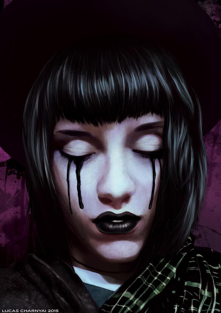 Girl of Darkness by lucascharnyai