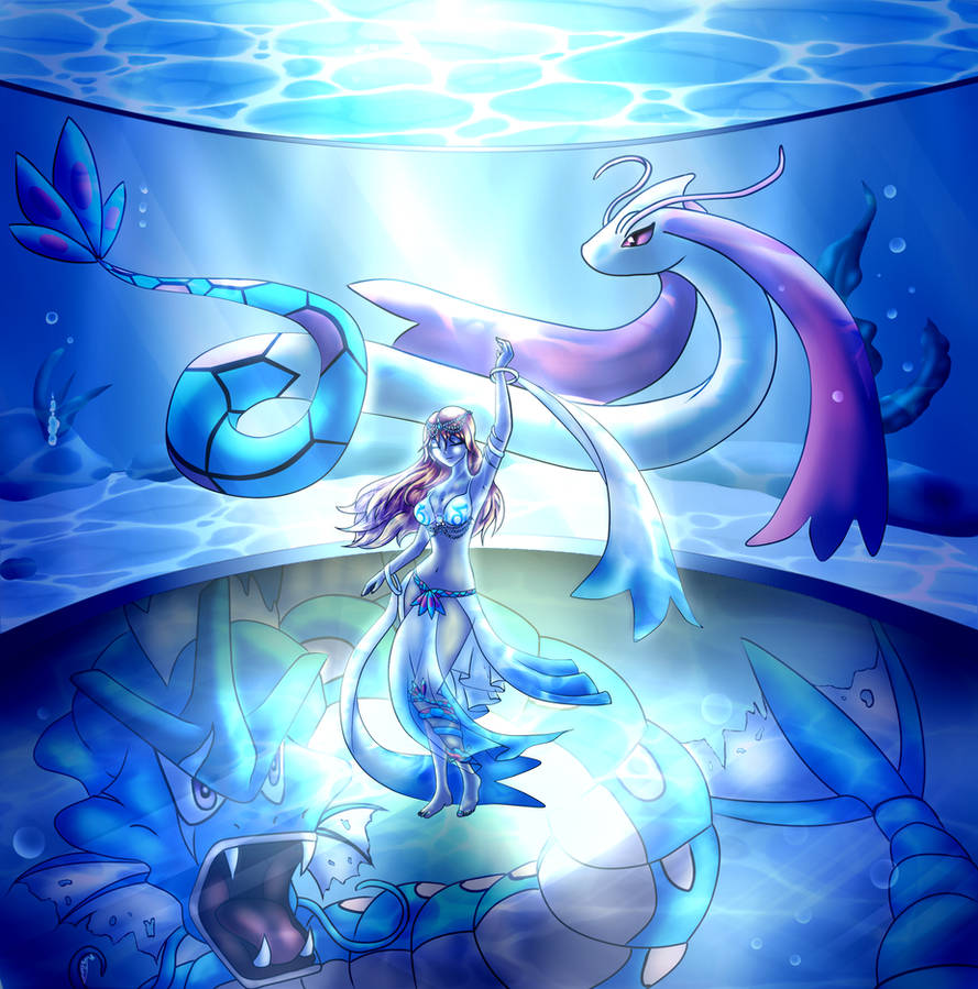 Water Gym Leader: Rin
