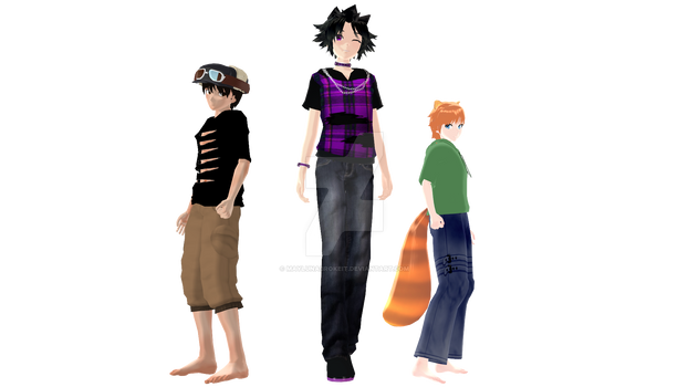 MMD Profiles: Rig, Austin and Reed