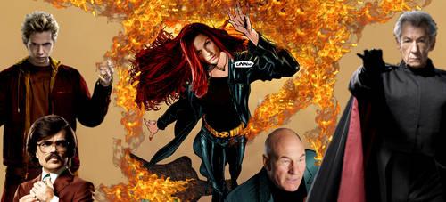X-Men Dark Phoenix by neo-sunglasses