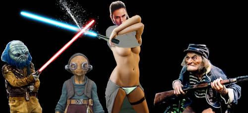 Last Jedi Rey by neo-sunglasses